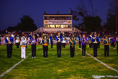 AG vs Paso Robles 10-6-17 Combined Band