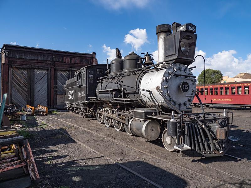 Cumbres & Toltec Scenic (Narrow Gauge) Railroad in Chama, New Mexico