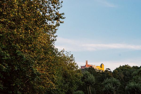Sintra - zona histórica
