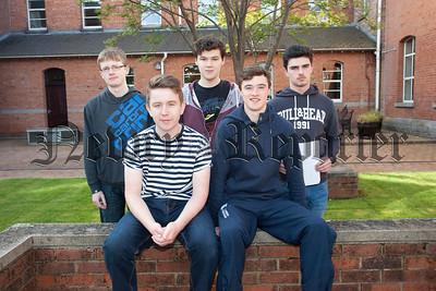 Michael Burns, Ryan Laughlin, John Ferrick, Nathan JOnes and Ferghal McNally. R1535009