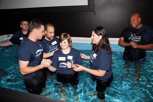 May 2015 PVC Baptism