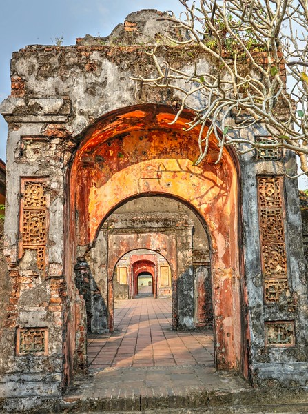 Inside the Imperial City - Hue