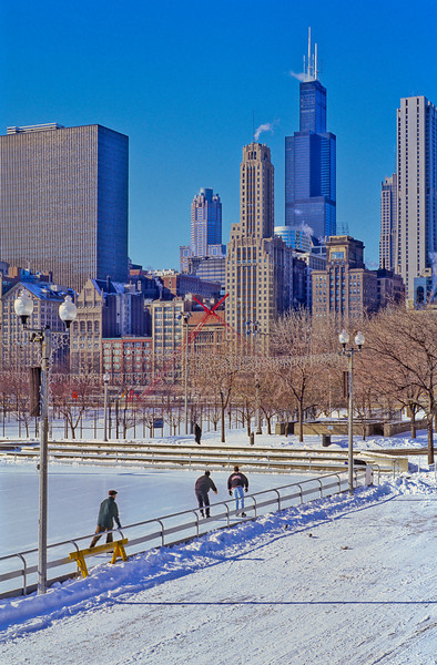 Sears Tower / Willis Tower in Winter
