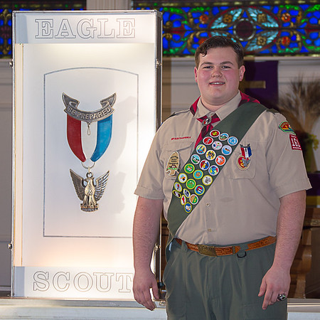 Steven's Eagle Scout Court of Honor