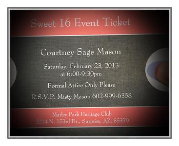 Courtney M Sweet 16
