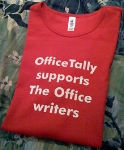 The Office WGA strike