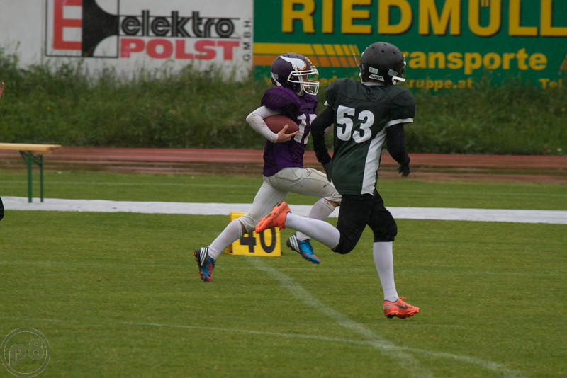 2013; AFBÖ; American Football; Danube Dragons; Vienna Vikings; U13; Youth