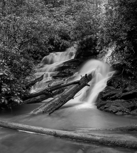 Falls on Kilby Mill Creek