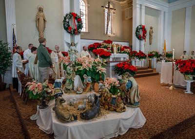 2019 Archbishop Visit - Saints Isidore and Maria Parish (Glastonbury, CT)
