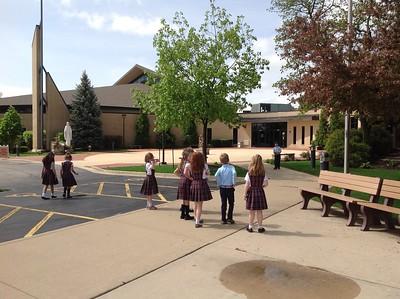 First Grade extra recess treat
