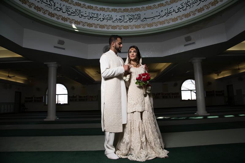 Nadia & Sarniyaz Nikkah