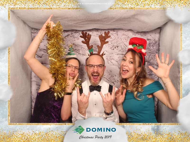 Domino Christmas Party