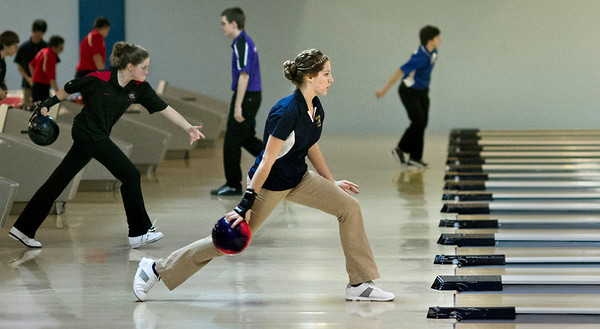 Valley Lutheran State Lanes 20140118 Bowling