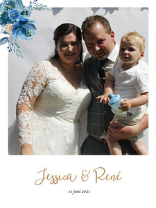 Bruiloft Jessica en Rene
