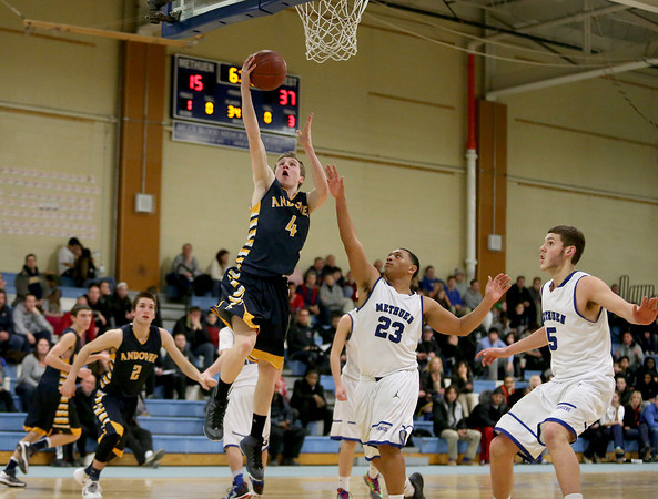 PHOTO SLIDESHOW: Andover vs Methuen Basketball