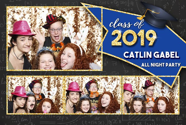 Caitlin Gabel Grad Party 2019