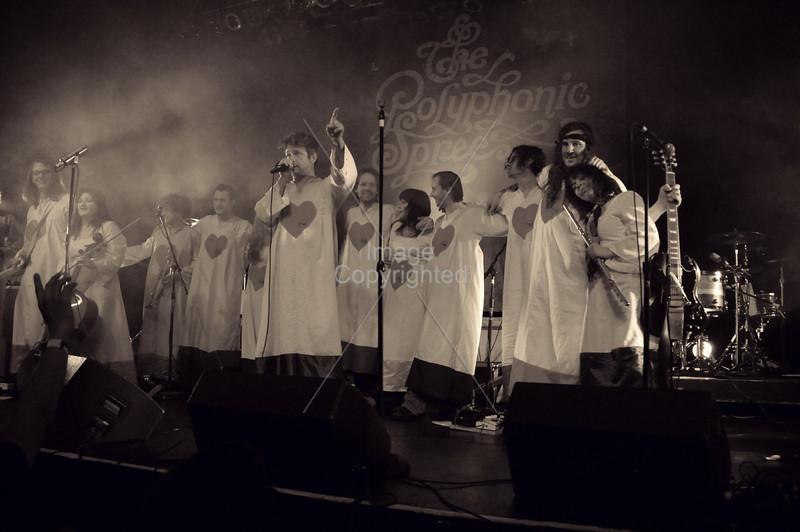 The Polyphonic Spree, Atlanta, GA. Center Stage, 2012.
