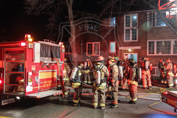 March 18, 2016 - Working Fire - 444 Royal York Road