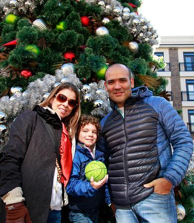 Christian, Sandra and Cristobal