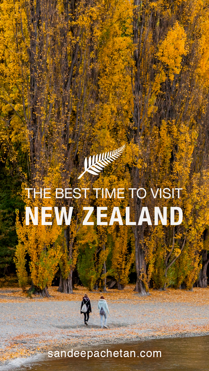 What made fall the best time to visit New Zealand for us