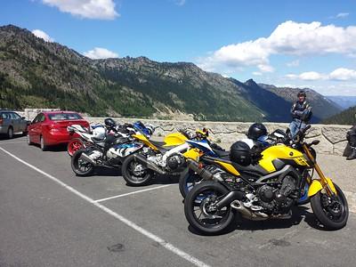 Mt Rainier East Loop Ride 06/13/15