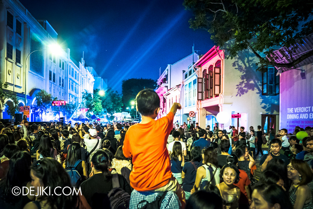Night Festival 2016 - Armenian Street crowds