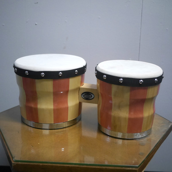 Traditional Wood Bongos