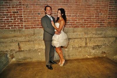 Jeff and Sam wedding reception