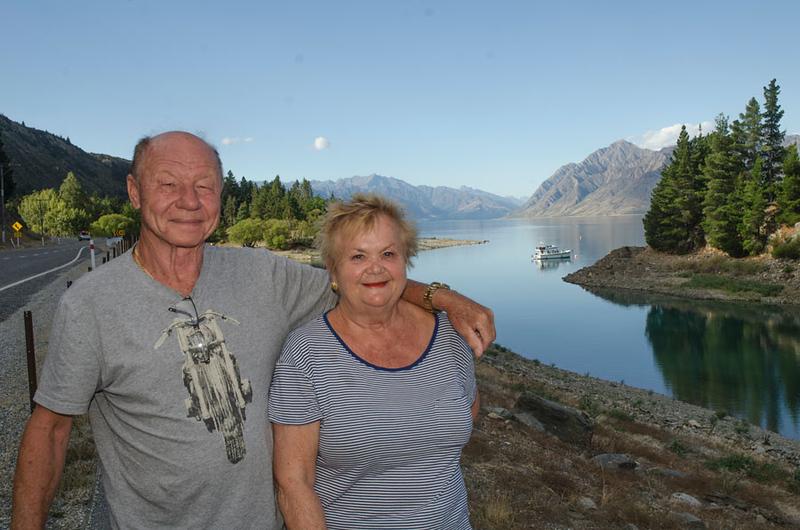 Vladimir and Vala Vinogradoff holiday in NZ Feb 2018 - Brian's photos
