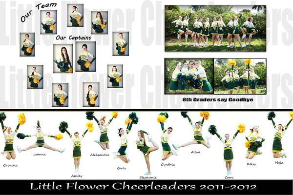 Little Flower Cheerleaders 2012