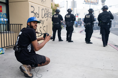 Lexis Reporting During 2020 LA Uprising