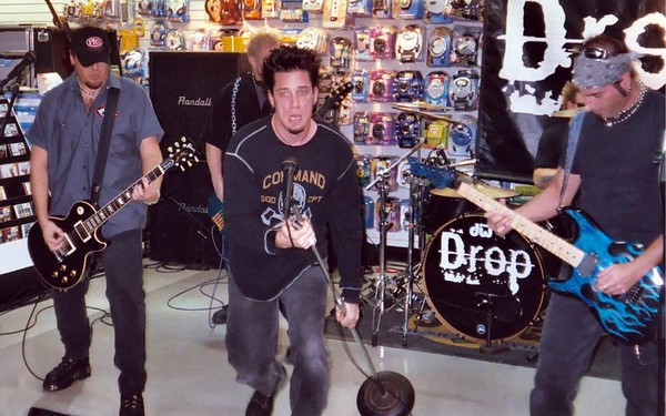 Drop Instore Performance at Coconuts 2004