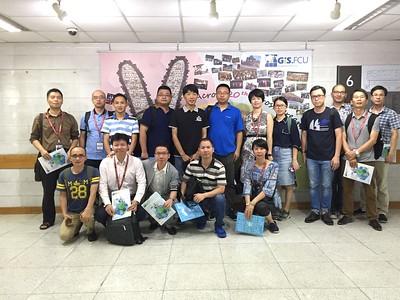 20170731福建省閩江學院工科骨幹教師培訓團參訪