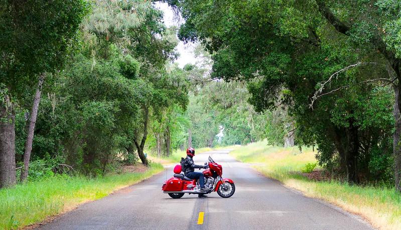 Quail Motorcycle Gathering - Indian Leaving Quail.jpg