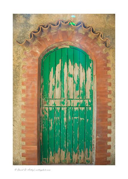 Door detail, Conca dei Marini,Amalfi Coast, Italy