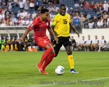 USA v Jamaica Concacaf Gold Cup 7-3-2019