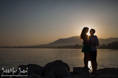 Pre Wedding Shoot - Old Town Marbella and Tikitano´s Estepona - Joanne and Brian