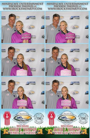 Arthur F. Thompson Memorial Golf Fundraiser - Photo Booth  Pictures