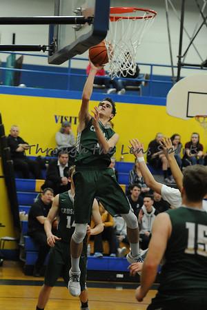 Salem Academy vs. Gervais Boys HS Basketball