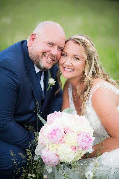 Amber and Aaron's Wedding Day 2020