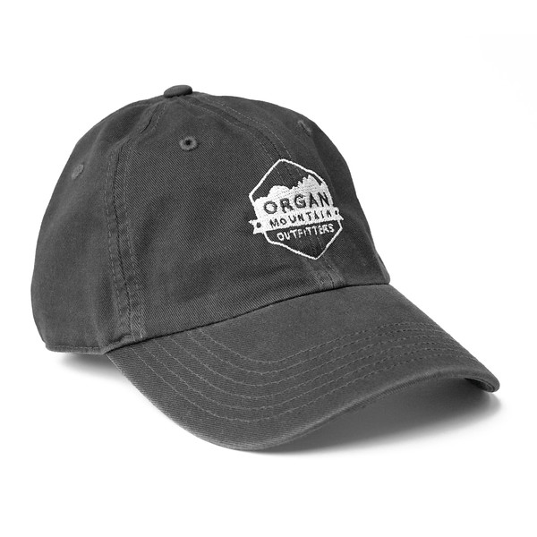 Outdoor Apparel - Organ Mountain Outfitters - Hat - Dad Cap Classic Logo - Pepper.jpg