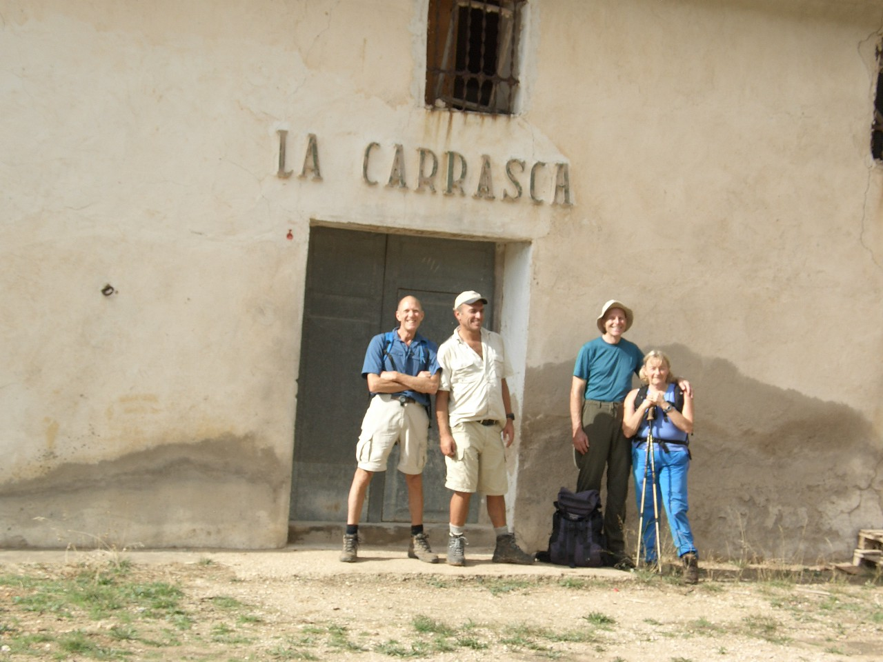 Sanchet Circuit with Alfred, John and Christine