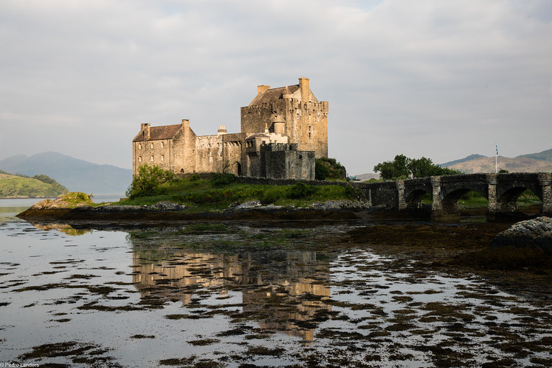 Sunrise on Eilean Donan Castle