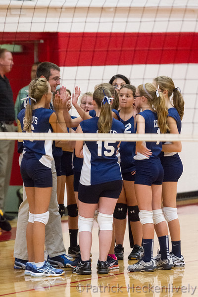 2015-09-21 Hillsdale Academy Junior High Volleyball vs. Camden-Frontier