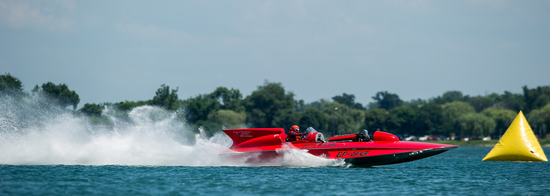 Detroit Gold Cup Hydroplanes, 7-12-13