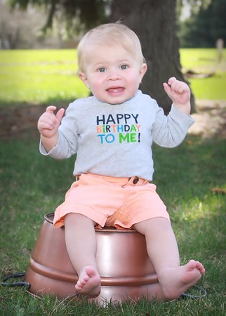 Bodie is 1!!!
