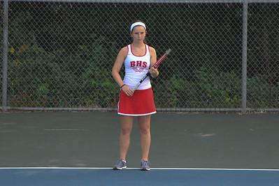 2013-09-24 BHS Women's Tennis VS Porter Ridge