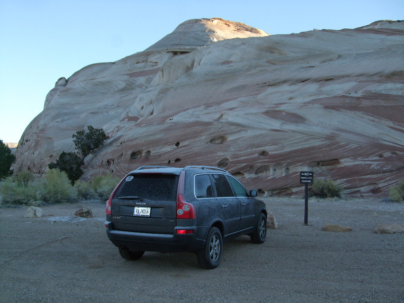White House campground – two miles south from 20 Milestone on US 89 in UT