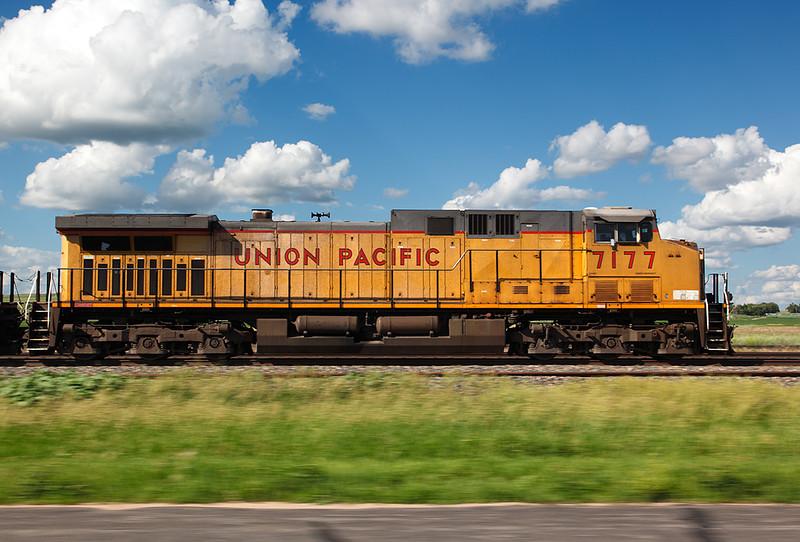 Union Pacific 7177 (GE C44/60AC) - Maxwell, NE