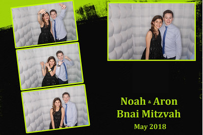 Noah and Aron`s Bnai Mitzvah